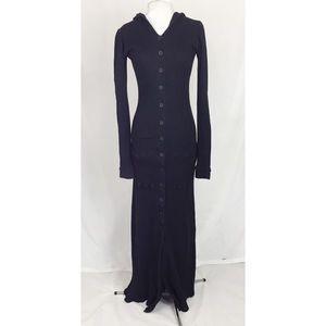 Vintage Betsey Johnson thermal maxi dress/coat